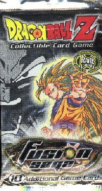 Dragonball Z CCG Fusion Saga Unlimited 50 Booster Pack Lot
